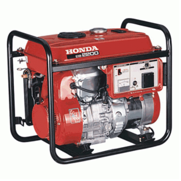 With Its Built In Circuit Breaker And Low Noise Vibration Using Honda  4 Stroke Technology, This Generator Performs ...