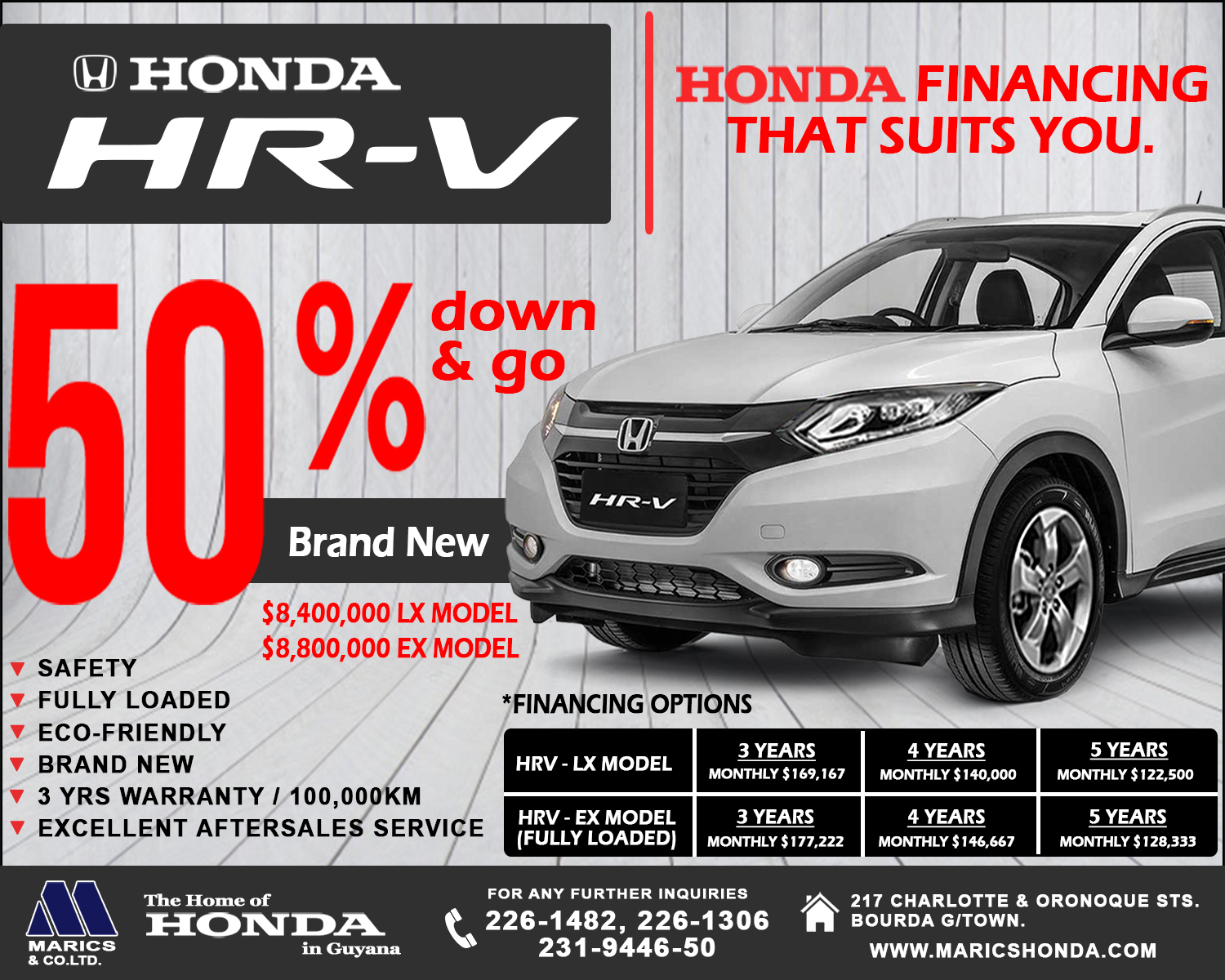 Let The Honda Days Continue Pay 50 Down And Drive Home A HR V Financing Available At Local Banking Institutions Terms Conditions Apply